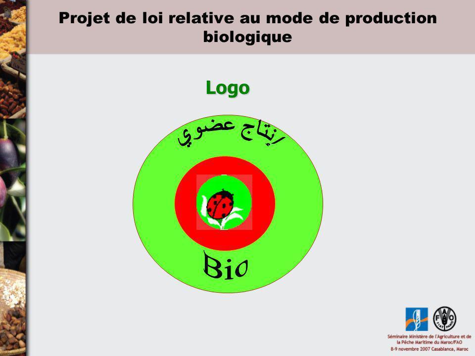 Projet de loi relative au mode de production biologique Logo Logo