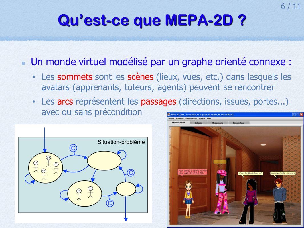 6 / 11 Quest-ce que MEPA-2D .