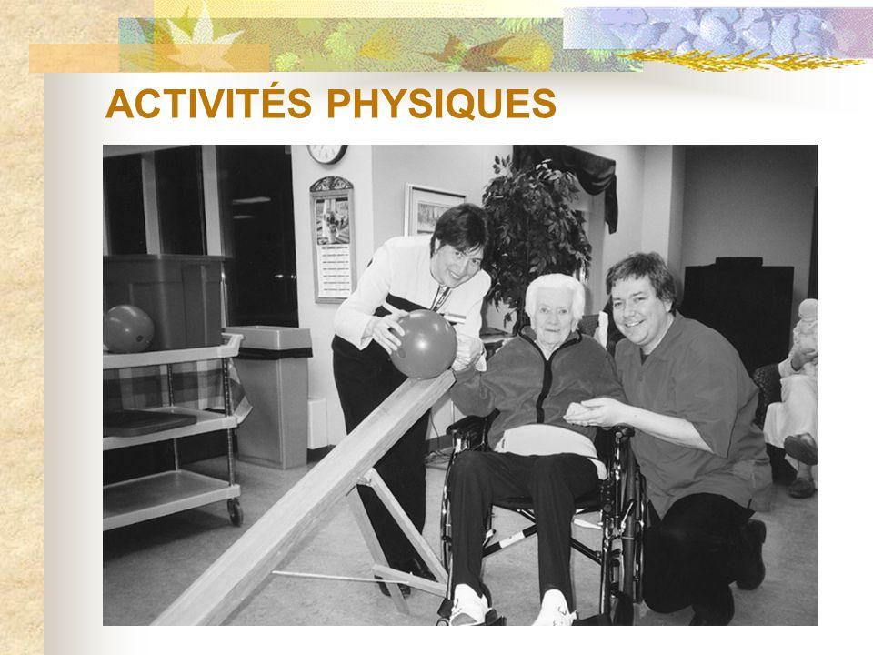 ACTIVITÉS PHYSIQUES