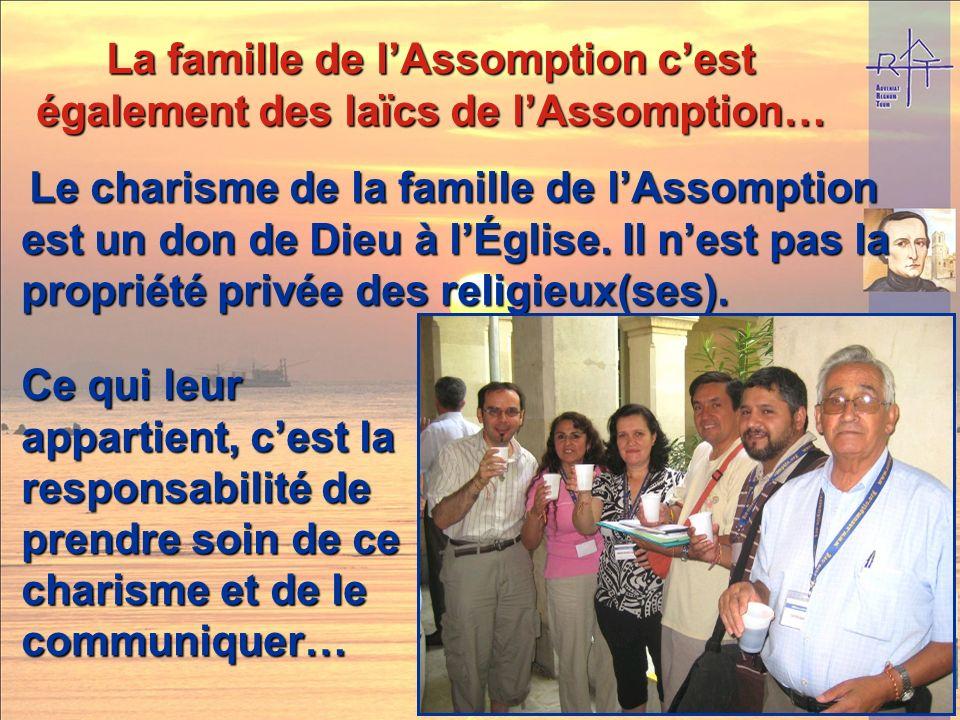 La famille de lAssomption cest aussi des fondations plus récentes, La famille de lAssomption cest aussi des fondations plus récentes, ou plus locales