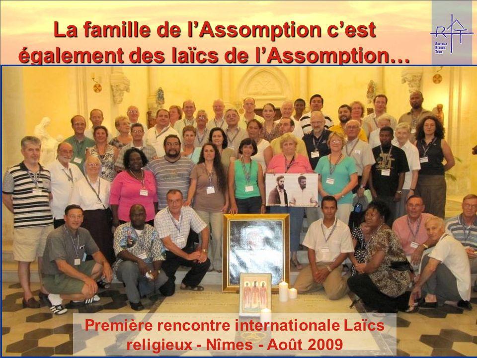 La famille de lAssomption cest également des laïcs de lAssomption… Le charisme de la famille de lAssomption est un don de Dieu à lÉglise. Il nest pas