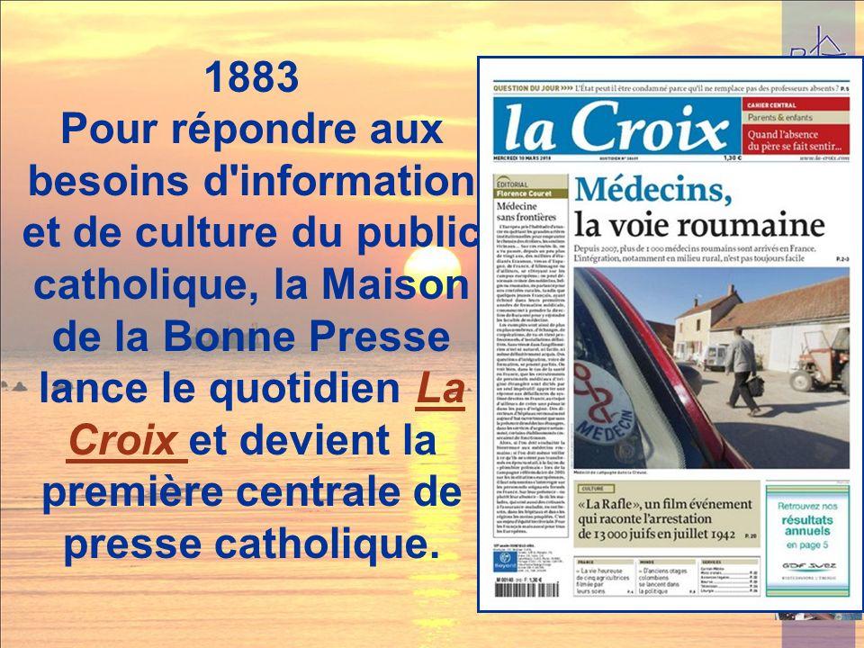 1. Doctrinal -Formation La Bonne Presse La Mauvaise Presse