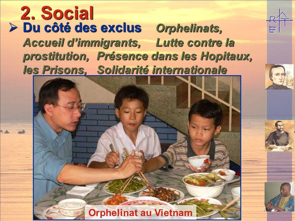 Petit séminaire à Miribel-les-Echelles 2. Social 2. Social Education pour les pauvres Education pour les pauvres Alumnats, Alphabétisation, Mission Al