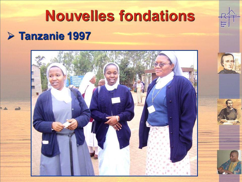 Nouvelles fondations Nouvelles fondations Kenya 1996 Kenya 1996