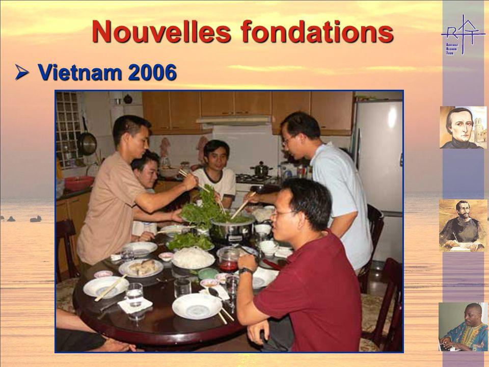 Nouvelles fondations Nouvelles fondations Togo 2006 Togo 2006