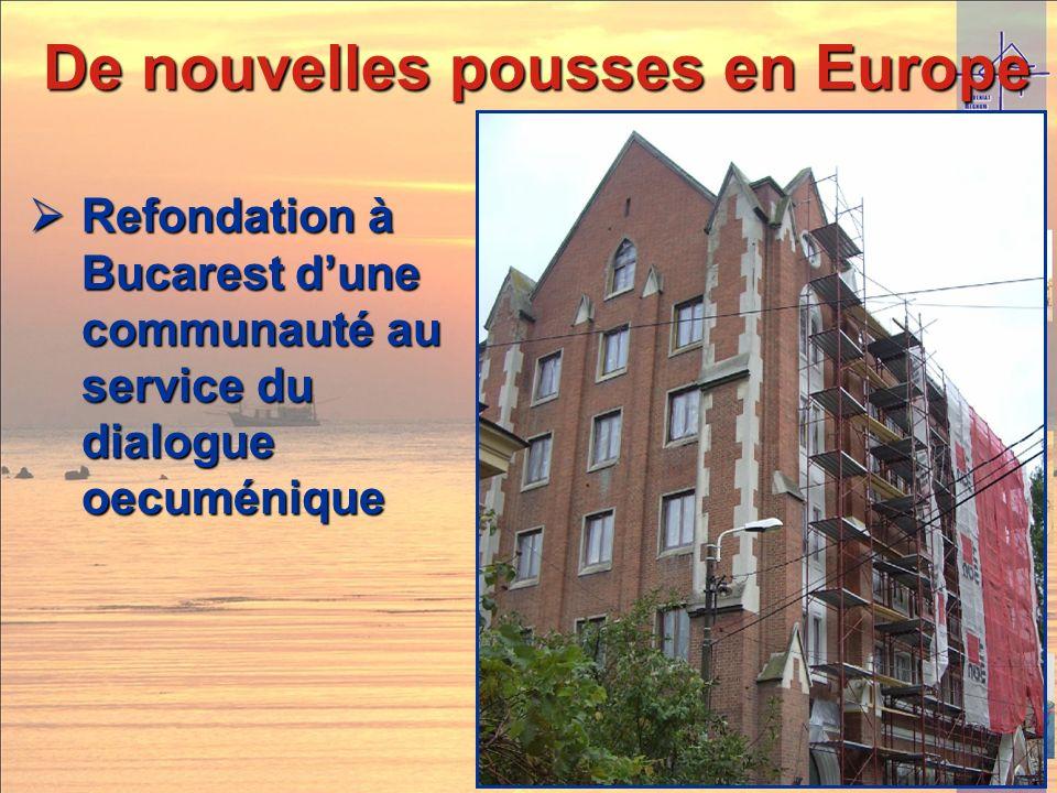 De nouvelles pousses en Europe Ouverture dune auberge de jeunesse chrétienne à Paris en juin 2010 Ouverture dune auberge de jeunesse chrétienne à Pari