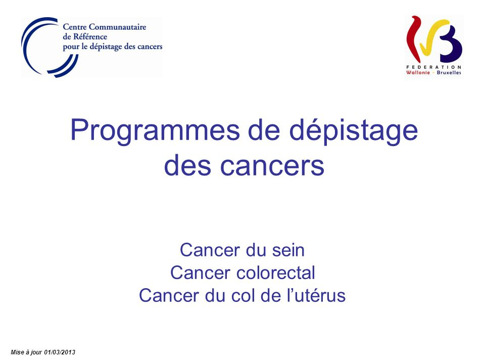 82 www.breastcancer.org NormalCancer in situCancer invasif Centre Communautaire de Référence asbl