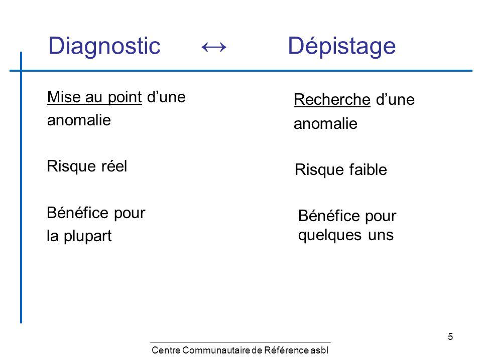 16 Dépistage - effets négatifs Toute intervention médicale entraîne inévitablement des effets négatifs.