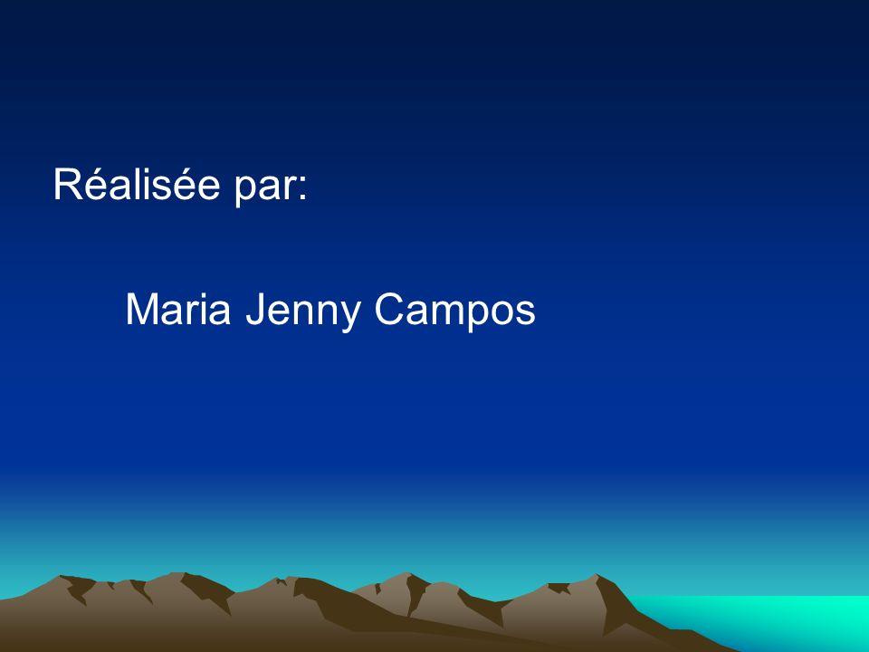 Réalisée par: Maria Jenny Campos
