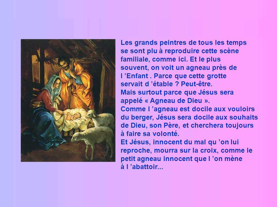 Et c est ainsi que le petit Emmanuel, ou Jésus, lui que lon reconnaîtra plus tard pour le « roi du monde », naquit dans une étable et fut couché sur l
