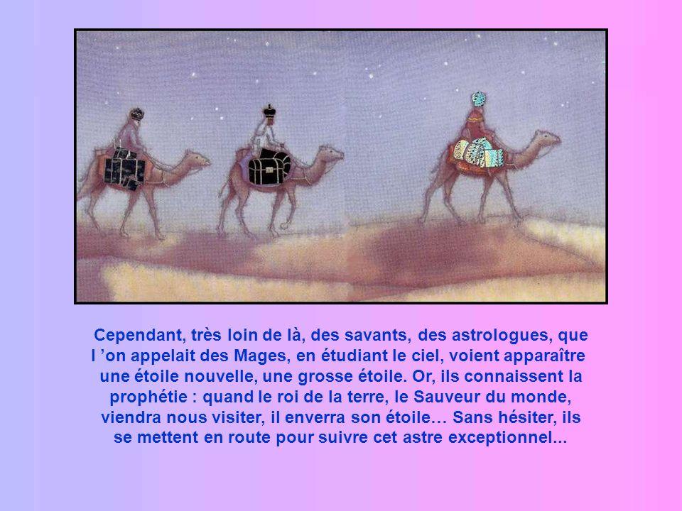 Comme tous ceux de leur race, les bergers attendaient ce Sauveur que les prophètes avaient promis depuis si longtemps.