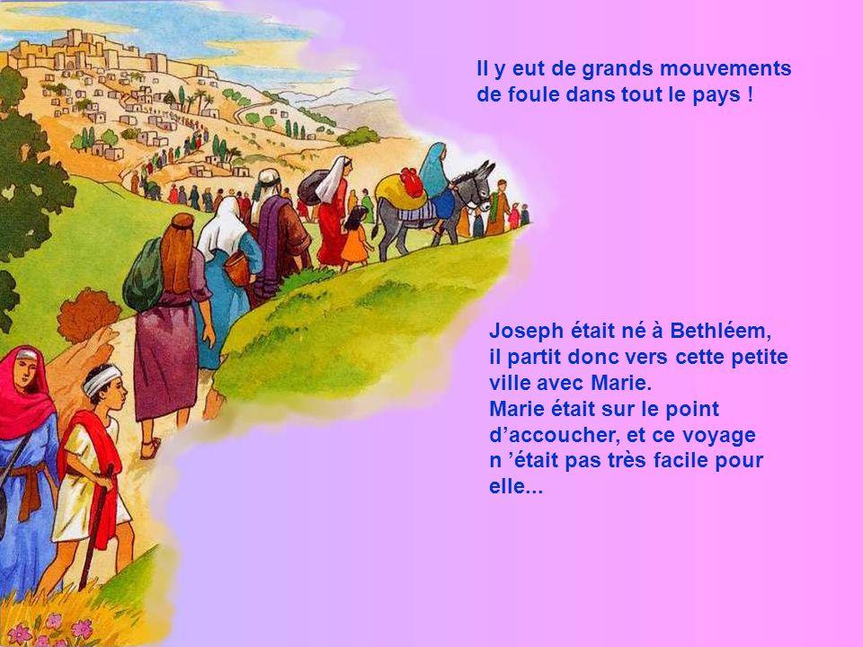 Marie fut bien étonnée ! Mais l ange la rassura. Et Marie accepta dêtre et de faire ce que Dieu voulait… Joseph et elle se marièrent. Et à se moment-l