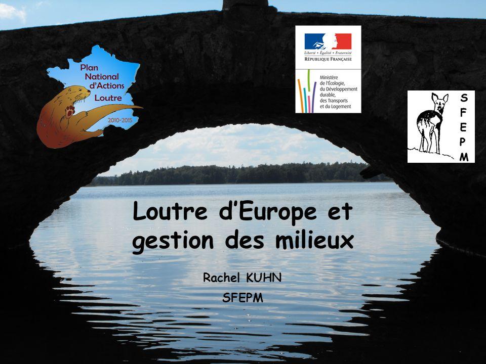Rachel KUHN SFEPM Loutre dEurope et gestion des milieux
