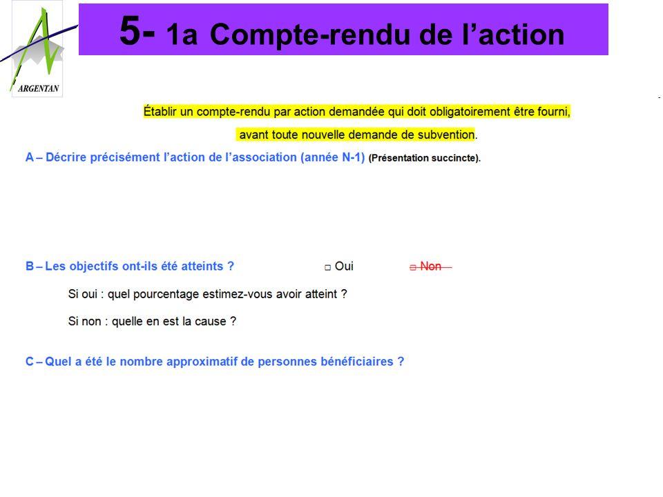 5- 1a Compte-rendu de laction