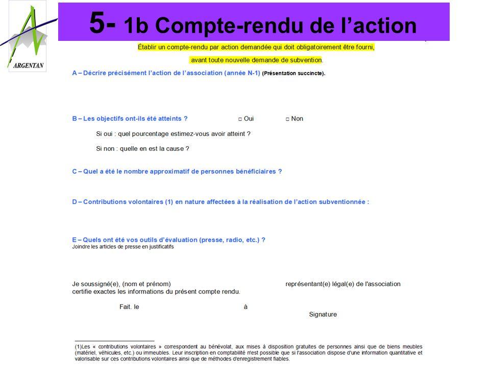 5- 1b Compte-rendu de laction