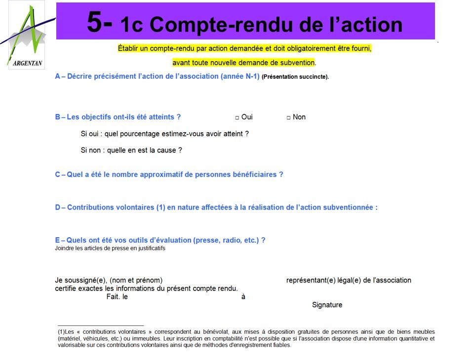 5- 1c Compte-rendu de laction