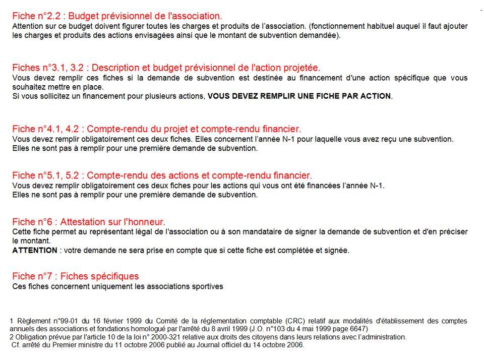7 - a FICHES SPÉCIFIQUES SPORT Critères dattribution de subvention