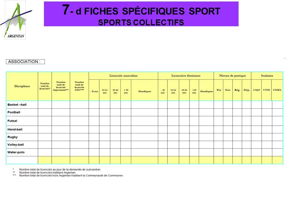 7 - d FICHES SPÉCIFIQUES SPORT SPORTS COLLECTIFS