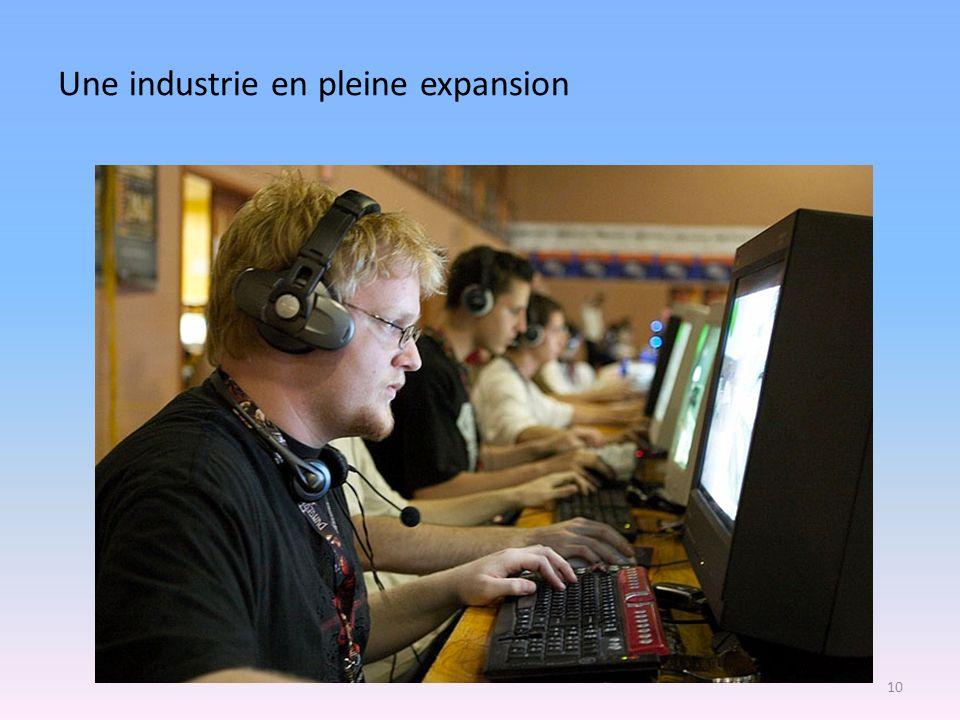 Une industrie en pleine expansion 10