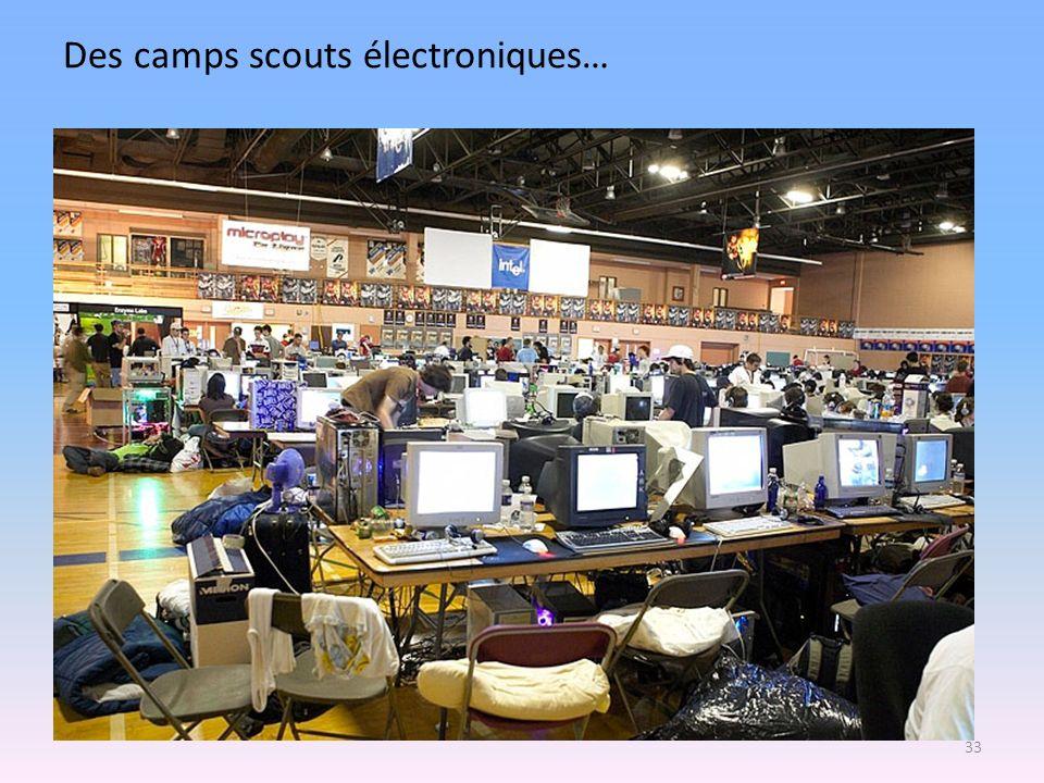 Des camps scouts électroniques… 33