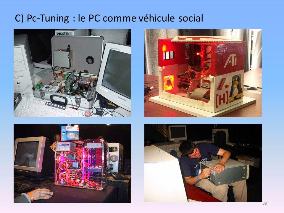 C) Pc-Tuning : le PC comme véhicule social 39