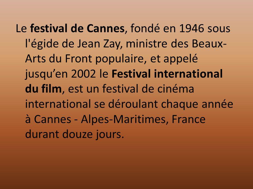 Le festival de Cannes saffiche par Paule C.
