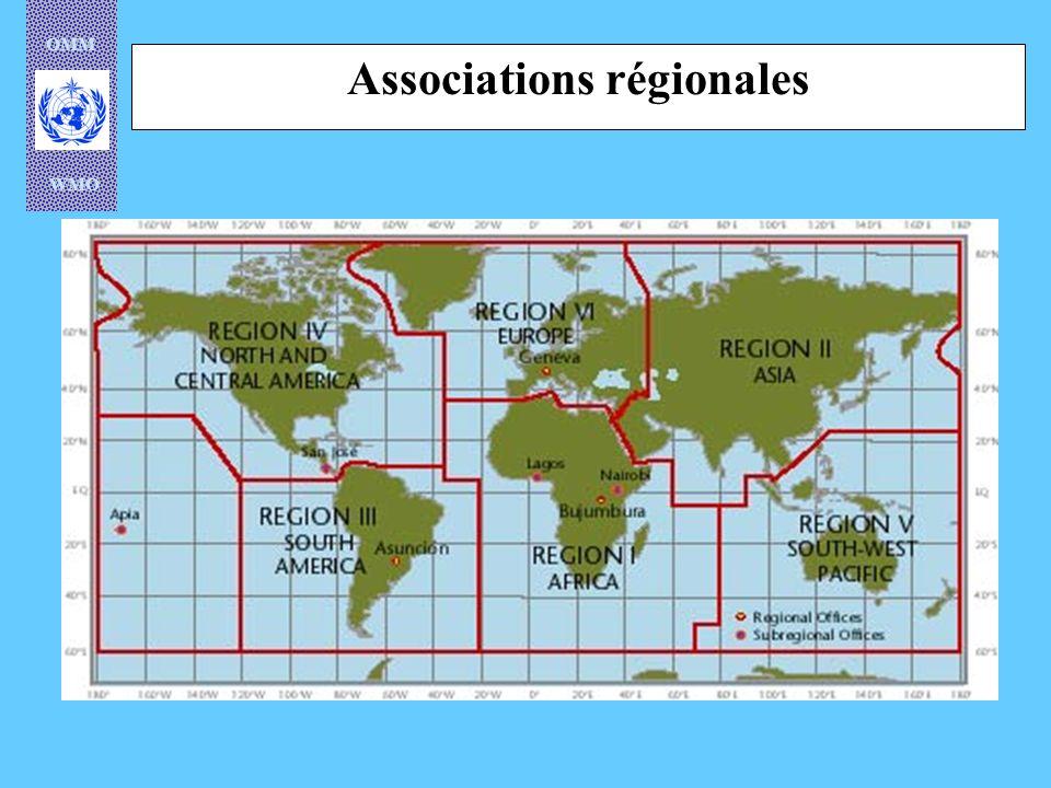 OMM WMO Programme climatologique mondial Recherche atmosphérique et sur lenvironnement Applications météorologiques Hydrologie et mise en valeur des ressources en eau Veille météorologique mondiale Programme de coopération technique Programme régional Programme denseignement et de formation professionnelle Programmes de lOMM