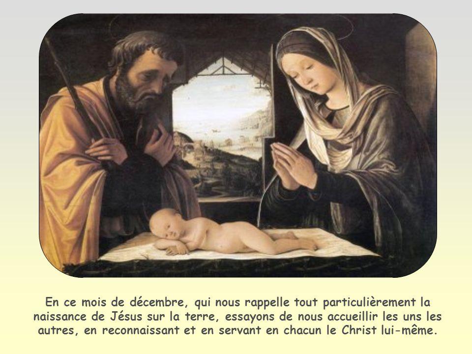 À ceux qui lont reçu, à ceux qui croient en son nom, il a donné le pouvoir de devenir enfants de Dieu.