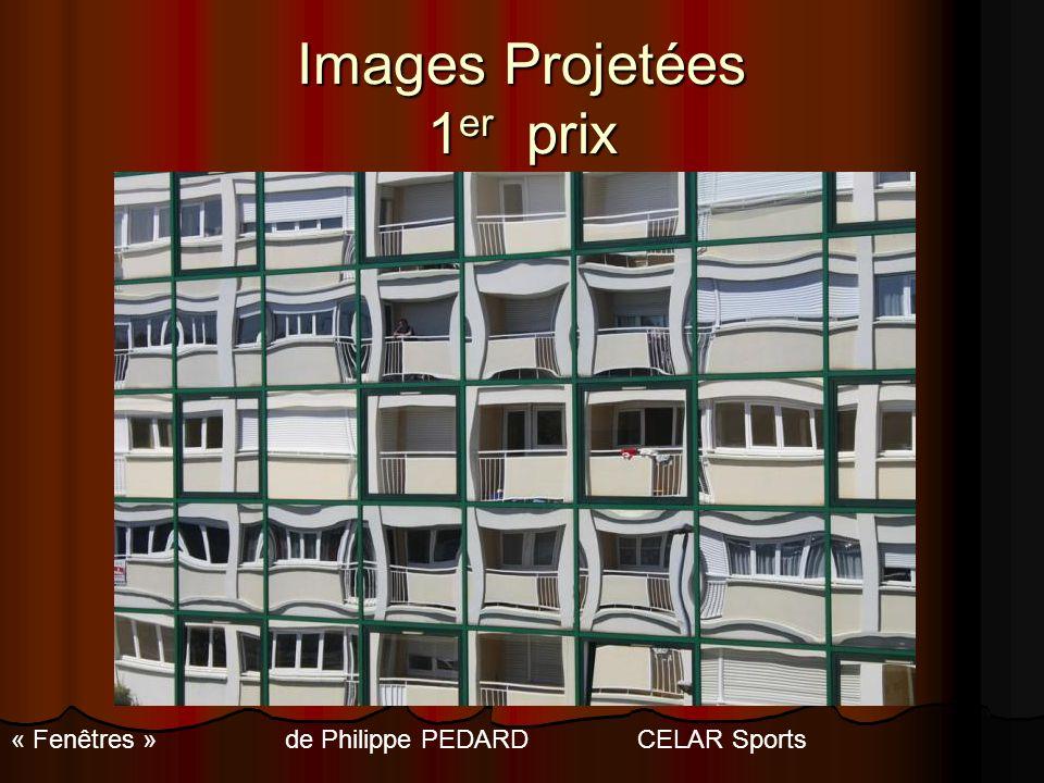 Images Projetées 1 er prix « Fenêtres » de Philippe PEDARDCELAR Sports