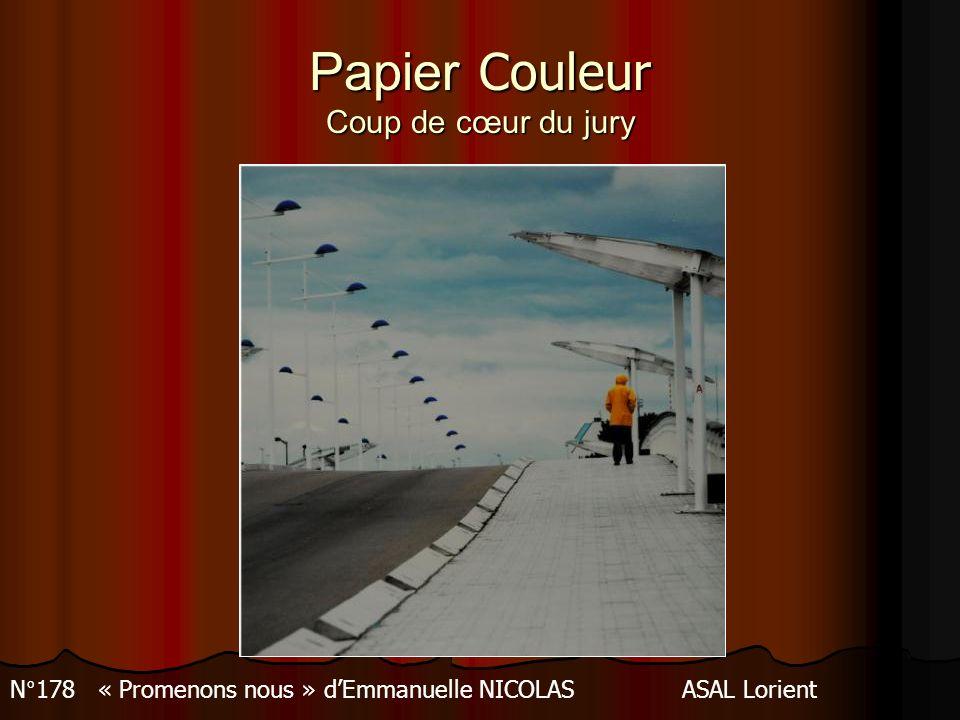 Papier Couleur 3 ème prix N 145 « Jeu de lumière » de Francis PREVAUDASEA Bourges