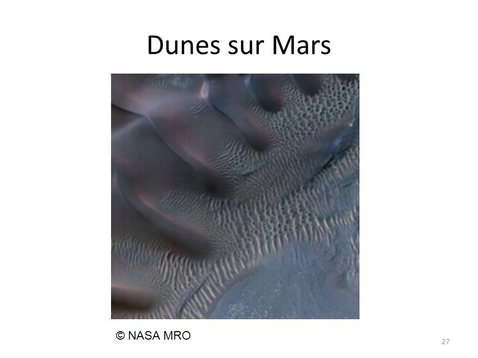 Dunes sur Mars 27 © NASA MRO