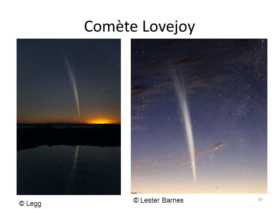 Comète Lovejoy 39 © Legg © Lester Barnes
