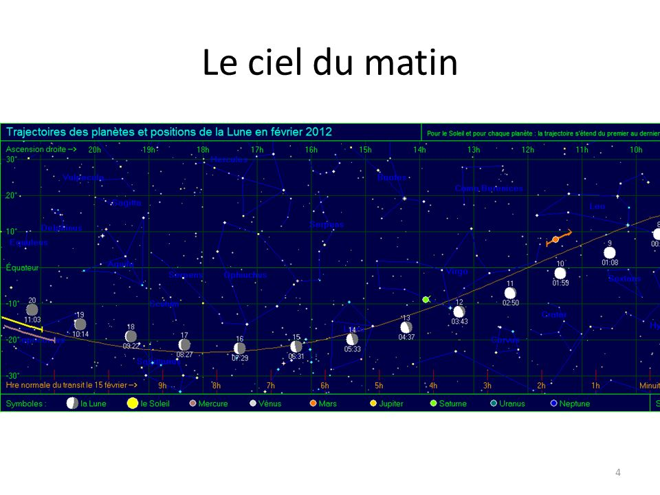 Lune et Vénus le 25 fév. 15