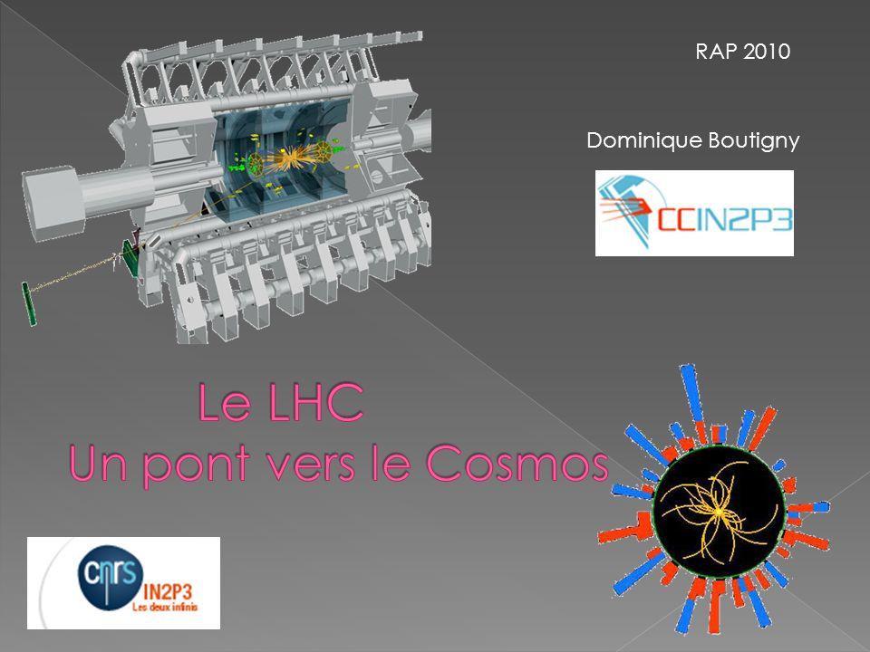 Comme tous les collisionneurs à protons, le LHC est une machine de découverte, faite pour explorer des domaines dénergie totalement nouveaux Plusieurs arguments de physique laissent penser que des phénomènes nouveaux doivent se manifester aux énergies du LHC La masse Comment les particules élémentaires acquièrent- elles une masse .