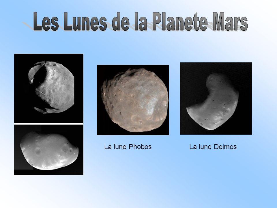 La lune PhobosLa lune Deimos