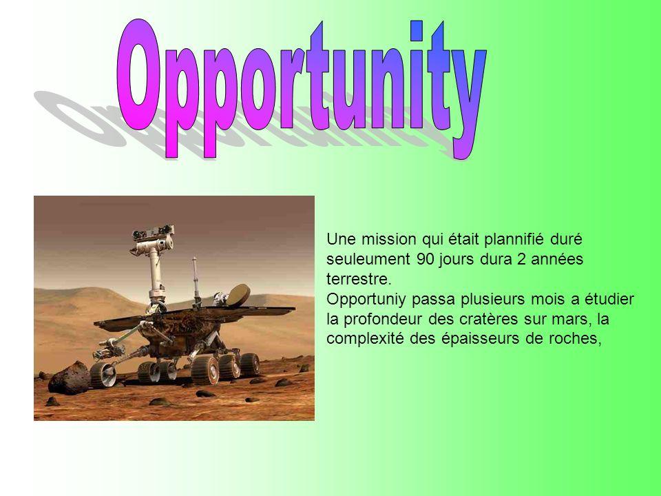 Une mission qui était plannifié duré seuleument 90 jours dura 2 années terrestre.