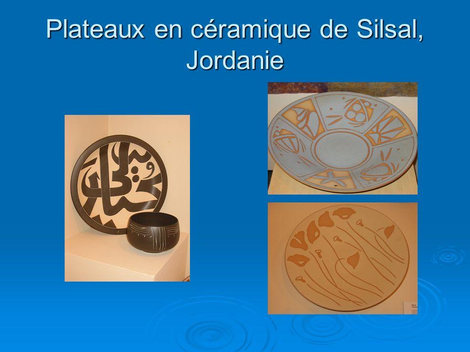 Plateaux en céramique de Silsal, Jordanie
