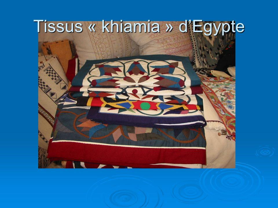 Tissus « khiamia » dEgypte