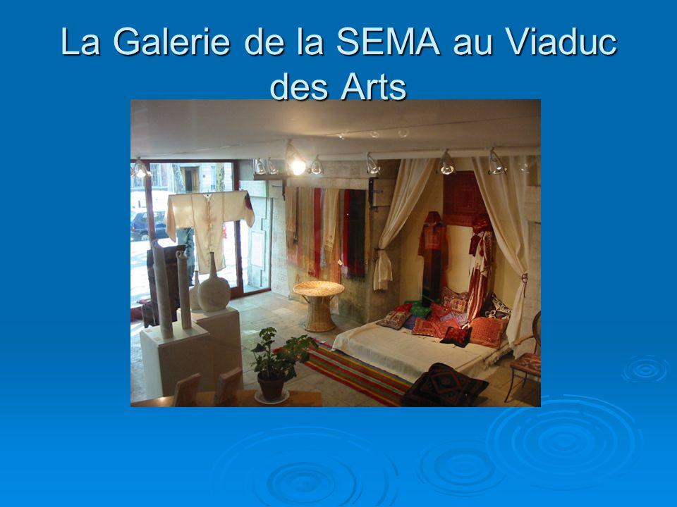La Galerie de la SEMA au Viaduc des Arts