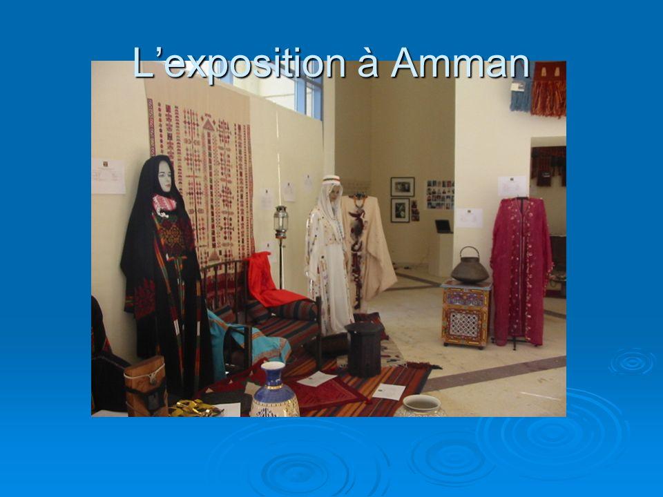 Lexposition à Amman