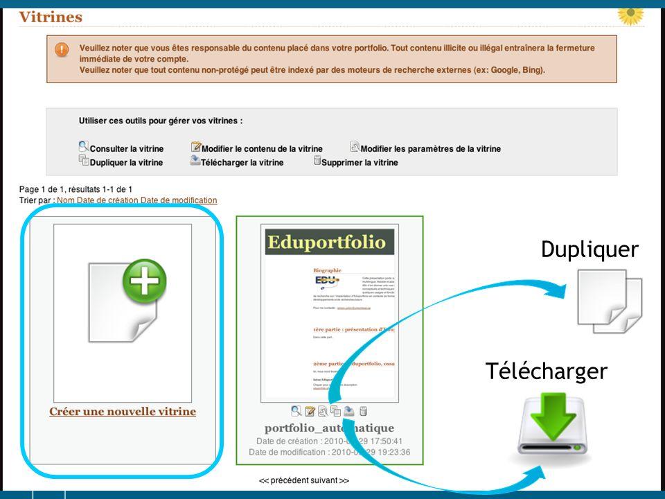 Dupliquer Télécharger
