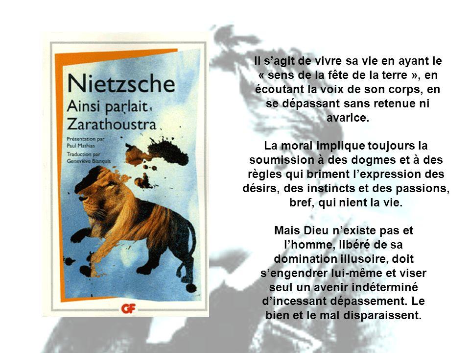 HOMMES SUPÉRIEURS, HOMMES INFÉRIEURS Nietzsche distingue deux catégories d hommes, les seigneurs et les esclaves.