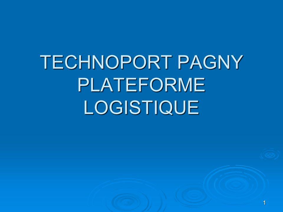 1 TECHNOPORT PAGNY PLATEFORME LOGISTIQUE