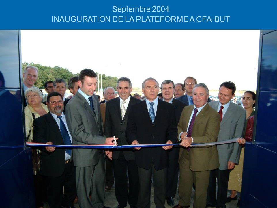 dsc0036912 Septembre 2004 INAUGURATION DE LA PLATEFORME A CFA-BUT