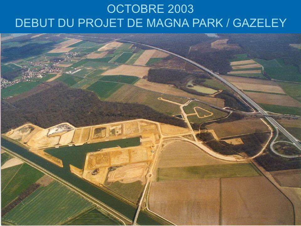 dsc003695 OCTOBRE 2003 DEBUT DU PROJET DE MAGNA PARK / GAZELEY