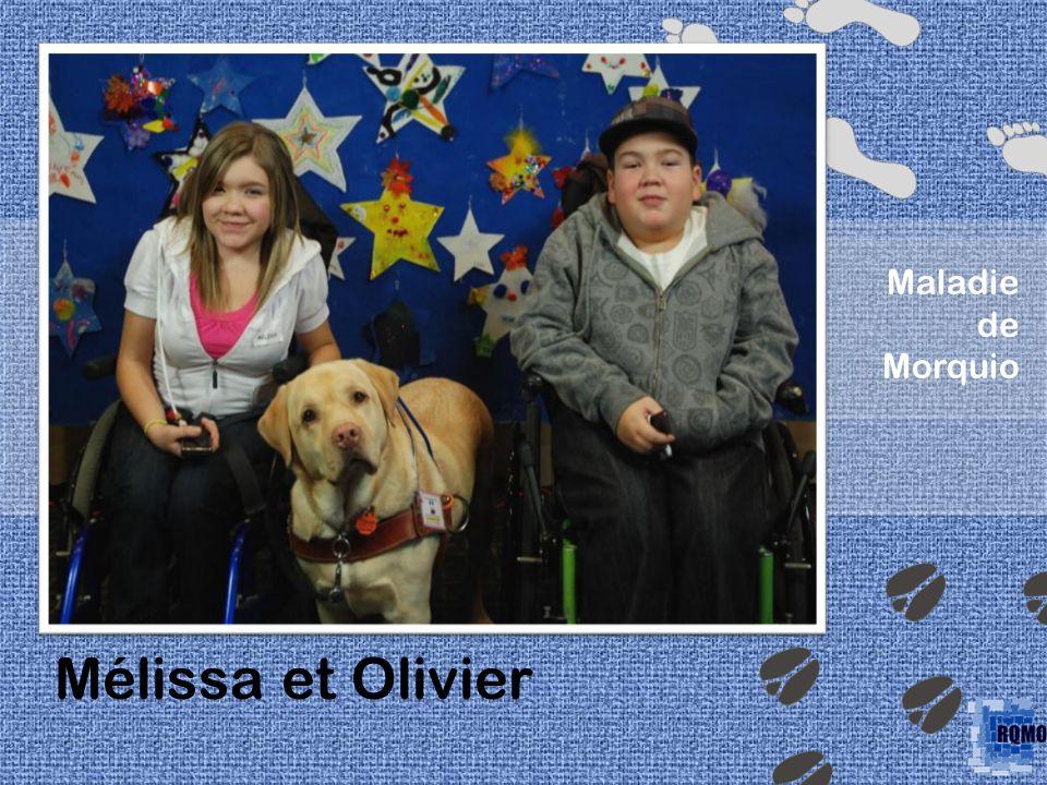 Mélissa et Olivier Maladie de Morquio