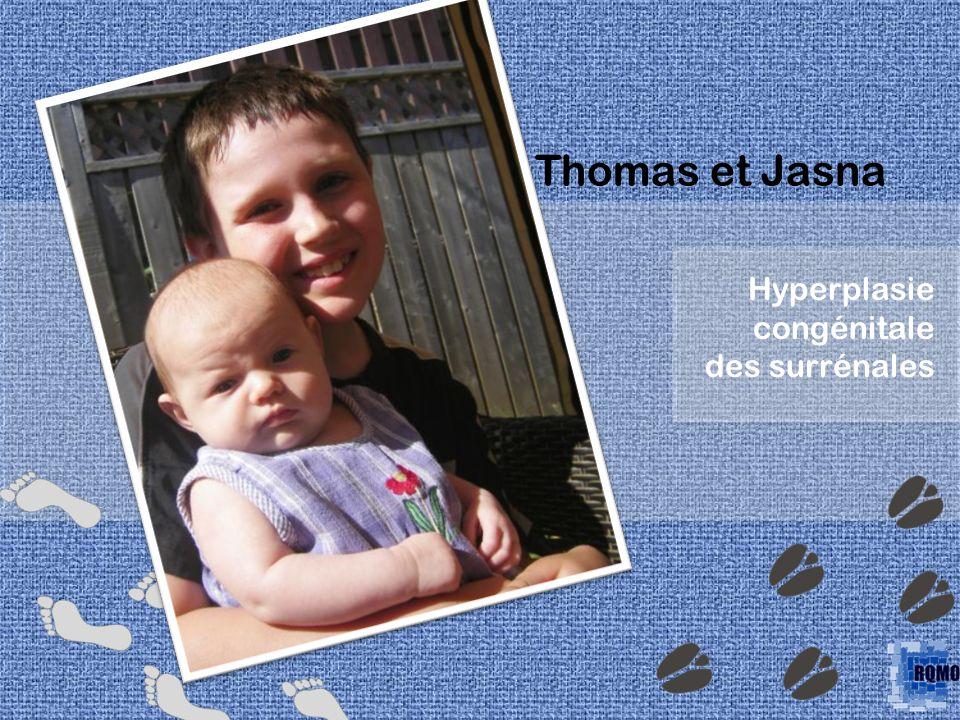 Hyperplasie congénitale des surrénales Thomas et Jasna
