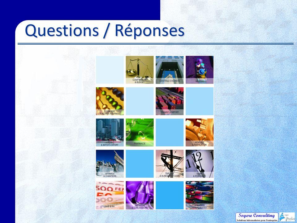 Questions / Réponses Questions / Réponses