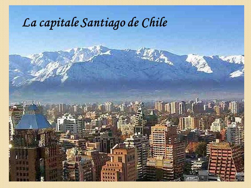 La capitale Santiago de Chile