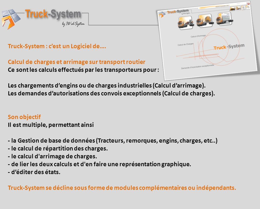 IDal-System Ingénierie Informatique 2 Boulevard Henri BECQUEREL 57970 YUTZ Tél: 03 55 84 00 02 contact@idal-system.eu www.idal-system.eu